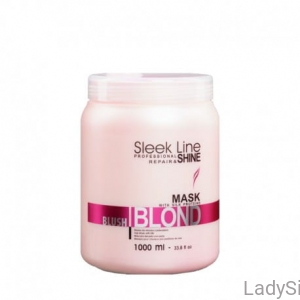 STAPIZ Sleek Line BLUSH BLOND - Maska do włosów blond 1000ml