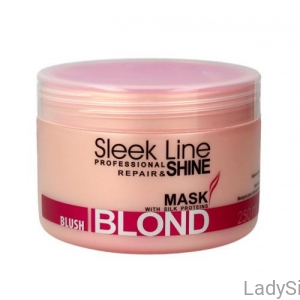 STAPIZ Sleek Line BLUSH BLOND - Maska do włosów blond 250ml