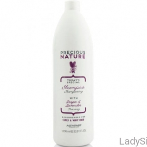 Alfaparf-Precious Nature Shampoo with Grape & Lavender - Szampon z winogronem i lawendą 1000ml