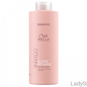 WELLA Professionals Invigo Blonde Recharge - Szampon do włosów blond 1000ml