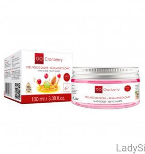 GO CRANBERRY - Peeling do dłoni 100ml