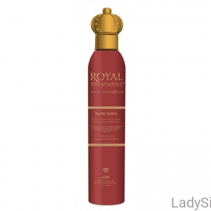 CHI Royal Treatment Rapid Shine - Nabłyszczający spray do włosów 150g