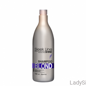 STAPIZ Sleek Line Blond - Szampon do włosów blond 1000ml