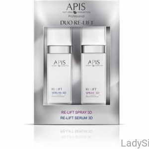 APIS DUO RE-LIFT SPRAY 3D & RE-LIFT SERUM LIFTINGUJĄCE, 2x50ml