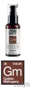 ALFAPARF PIGMENTS Gm GOLDEN MAHOGANY złocisto-mahoniowy Pigment do farb 90ml