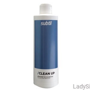 SUBTIL Clean up Zmywacz farby ze skóry 500ml