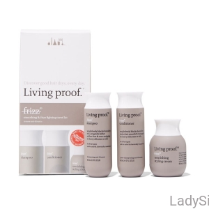 Living Proof No Frizz TRAVEL KIT - zestaw podróżny 3x60ml