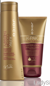 JOICO K-PAK Color Therapy Szampon 300ml +  Luster Lock Maska 140ml