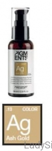 ALFAPARF PIGMENTS Ag ASH GOLD Popielato-złocisty Pigment do farb 90ml