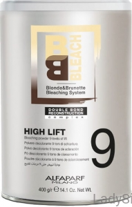 Rozjaśniacz do 9 tonów ALFAPARF BB High Lift 400g