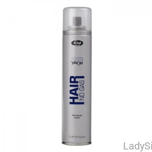 Lisap High Tech Hair Spray No Gas Natural Hold Lakier do włosów bez gazu o średnim utrwaleniu 300ml