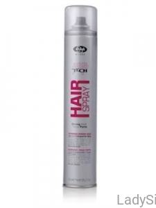 Lisap High Tech Hair Spray No Gas Strong Hold Lakier do włosów bez gazu o mocnym utrwaleniu 300ml