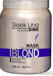 STAPIZ Sleek Line Mask Hair Blond - Maska regenerująca do włosów blond 1000ml