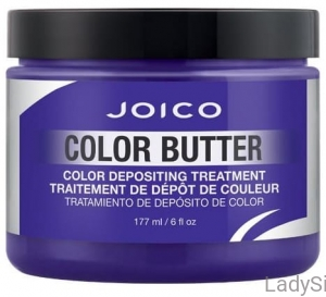 JOICO INTENSITY COLOR BUTTER - Maska koloryzująca Purple Fioletowa 177ml