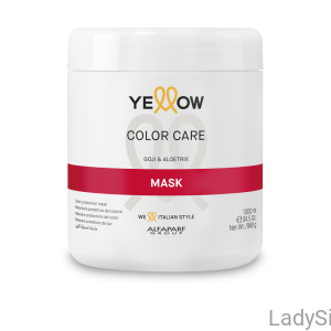 YELLOW Color Care - Maska do włosów farbowanych 1000ml