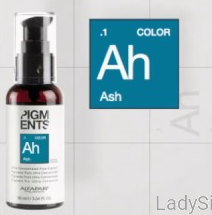ALFAPARF PIGMENTS Ah ASH Popielaty Pigment do farb 8ml