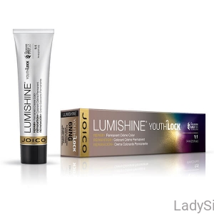 JOICO Lumishine Permanent Color YOUTHLOCK - Farba do włosów z kolagenem i kompleksem ARGIPLEX 74ml