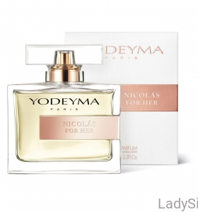 Yodeyma Perfumy Nicolas for her for Woman 100ml